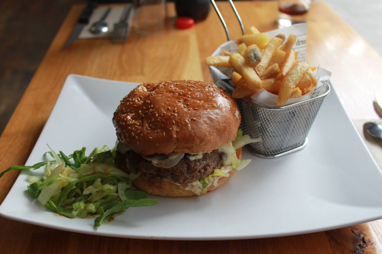 Lux 39 burgers restaurant luxembourg - Cuisine rapide luxembourg ...