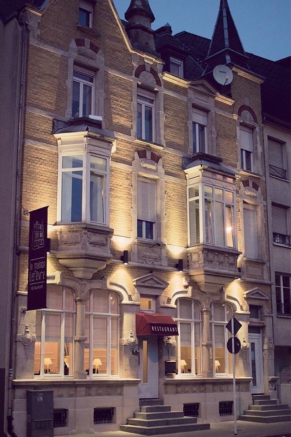 La maison lef vre restaurant esch sur alzette - La maison baron lefevre ...