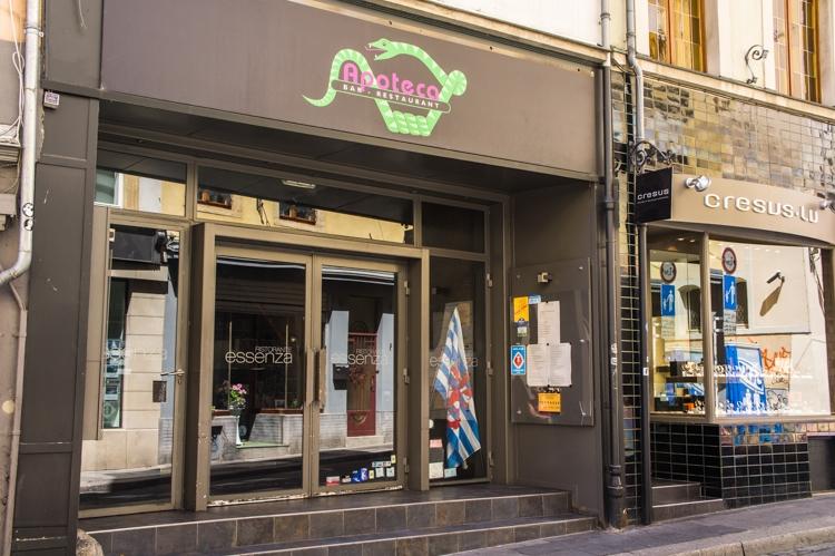 Essenza apoteca restaurant luxembourg - Restaurant rue des bains luxembourg ...