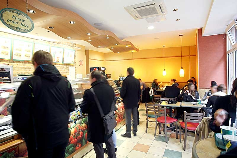 Subway centre restaurant luxembourg - Cuisine rapide luxembourg ...