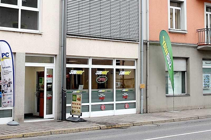 Subway echternach restaurant echternach - Cuisine rapide luxembourg ...