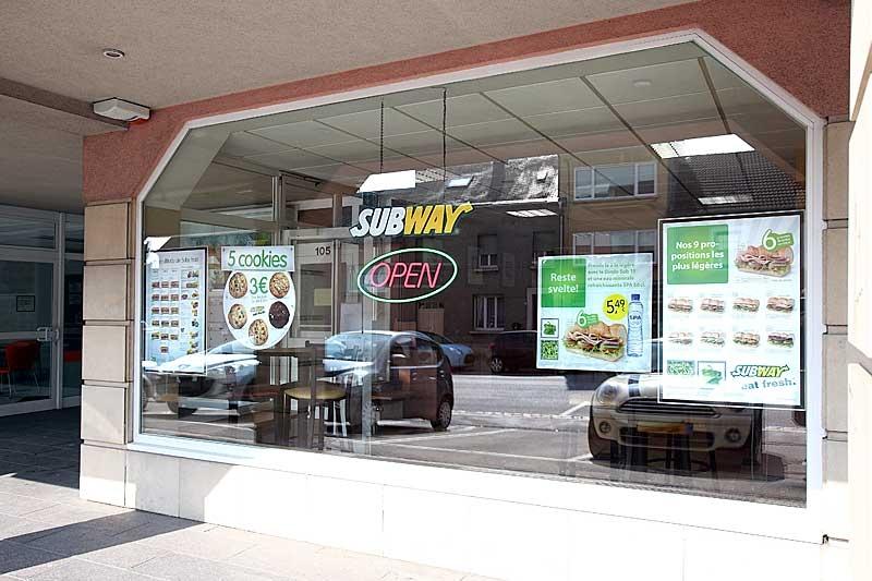 Subway bascharage restaurant bascharage - Cuisine rapide luxembourg ...
